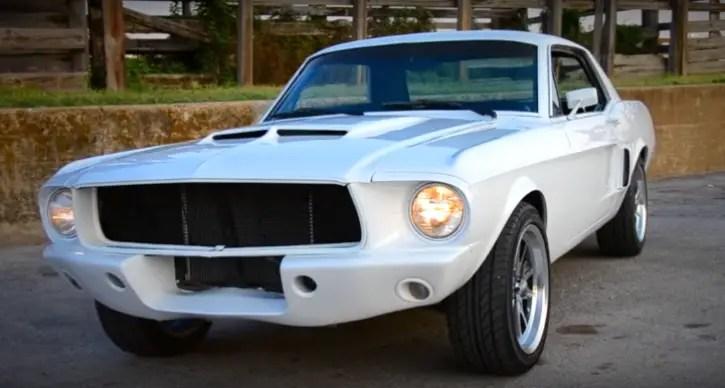 custom built 1967 mustang 347 stroker 5-speed