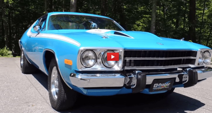pro street 1973 plymouth road runner build