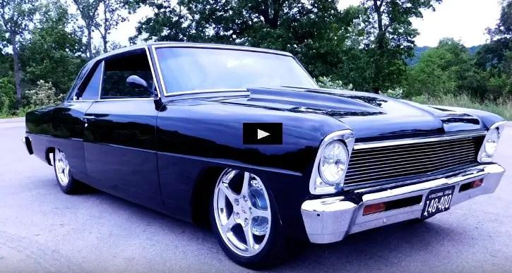 1966 chevy II nova custom build