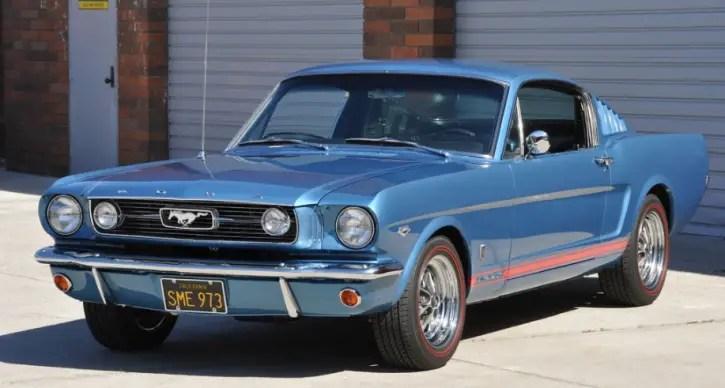 restored 1966 mustang fastback k-code