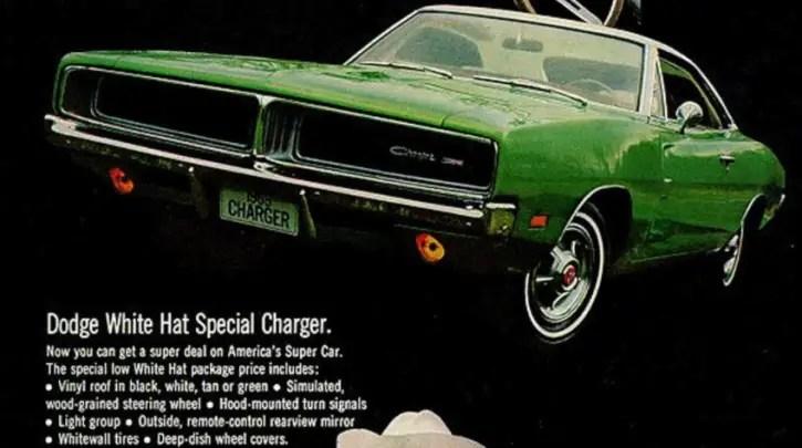 1968-1970 dodeg charger rt history