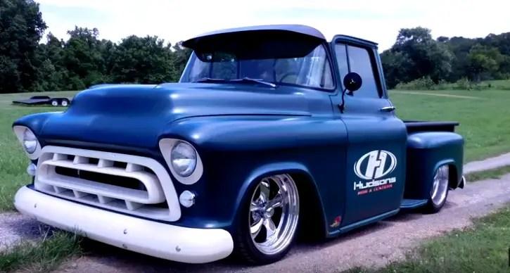 Custom 1957 chevy truck