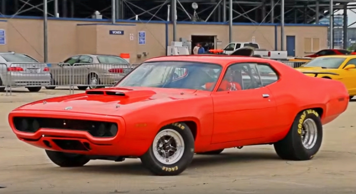 10 second 1971 plymouth road runner all motor