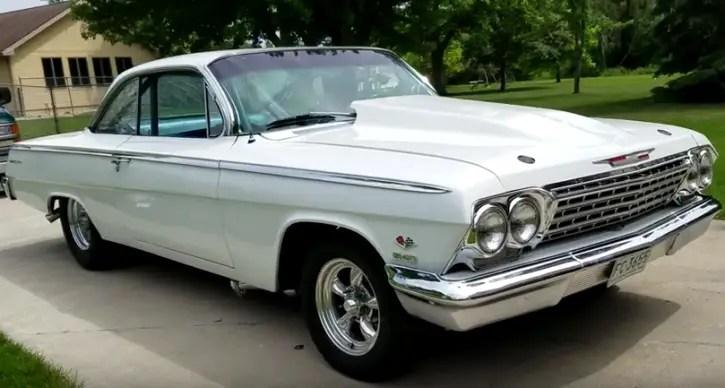 1962 chevy belair 540 v8 built