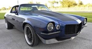split bumper camaro pro touring build