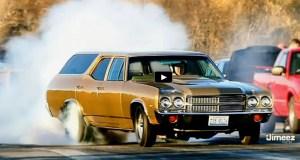 all motor 1970 chevelle wagon drag racing