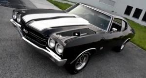 tuxedo black 1970 chevy chevelle 454 big block