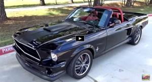 custom built 1968 ford mustang convertible