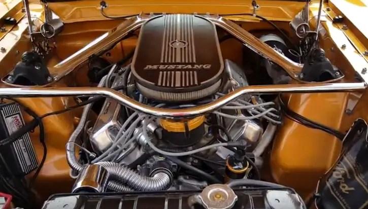 1965 mustang fastback restomod
