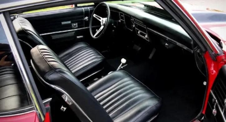 restored 1968 chevy chevelle ss