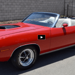 restored 1970 plymouth hemi cuda convertible
