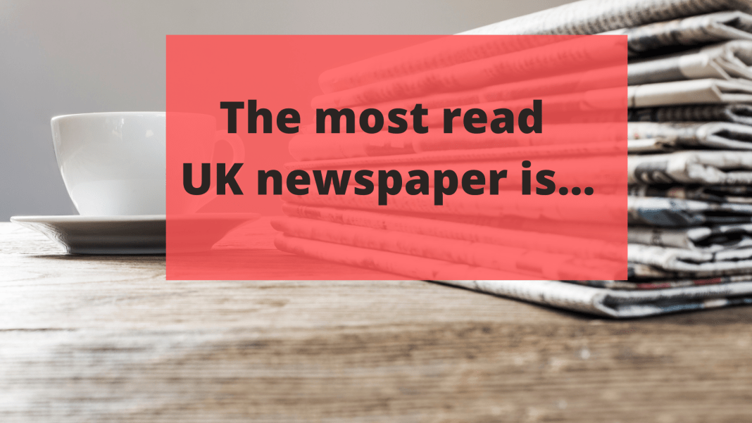 UK's most read newspaper is..