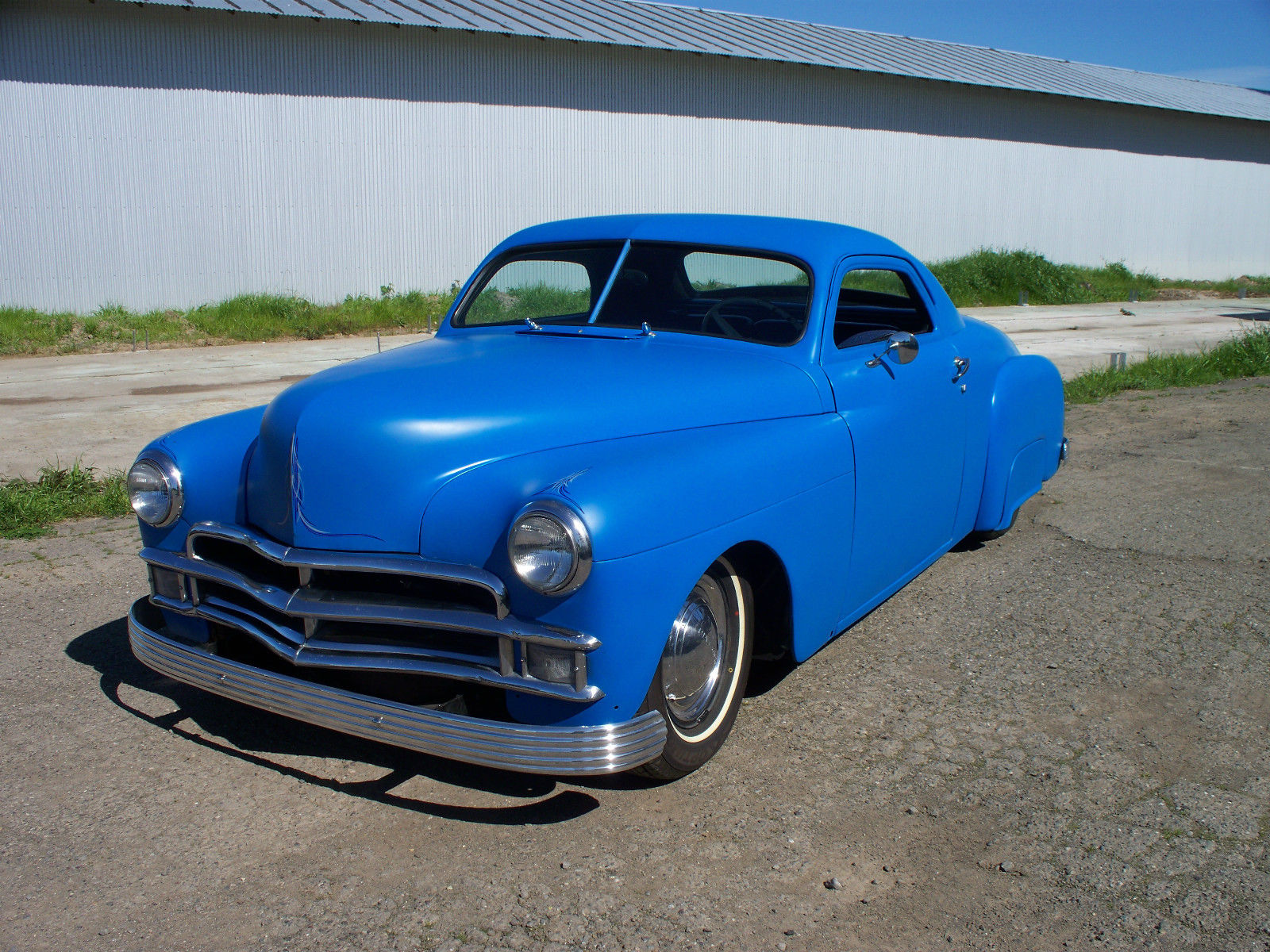 Wiring Ford Old Cars 1950 Plymouth Business Coupe Chopped Hot Rod Custom For Sale