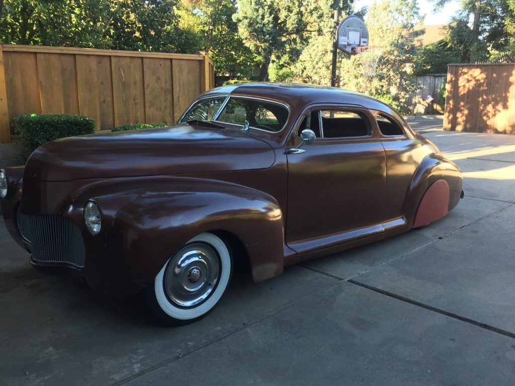 Chopped 1941 Chevrolet hot rod for sale