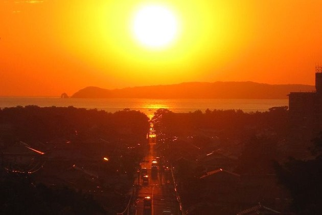 2108年2月17日~25日 光の道in宮地嶽神社