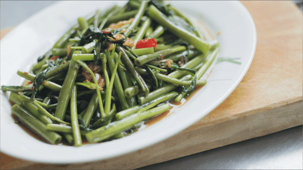 Water Spinach Stir Fry Pad Pak Boong