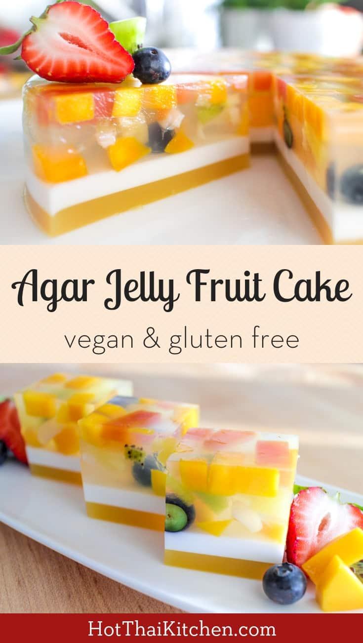 kitchen.com trash bin kitchen agar fruit jelly cake recipe video tutorial เค กว นผลไม this beautiful no bake dessert is light healthy filled with fresh perfect