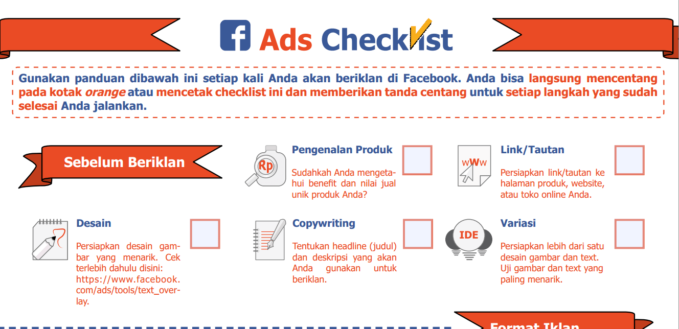 Facebook Ads Checklist