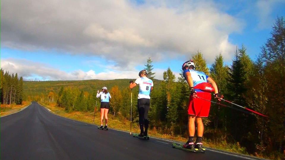 Vaajmaraton Rullskidtävling. Foto Gunnar Sandberg
