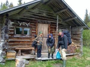 På äventyr i Hotagsbygden. Foto Anki Hallqvist