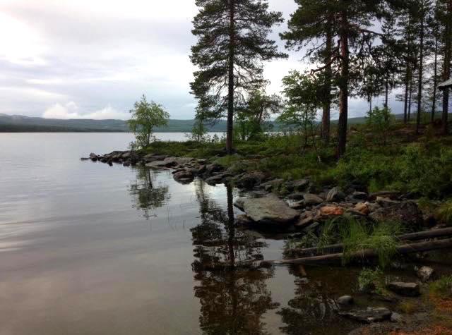 Fisketur i Stor-Kingen. Foto Eva Johansson
