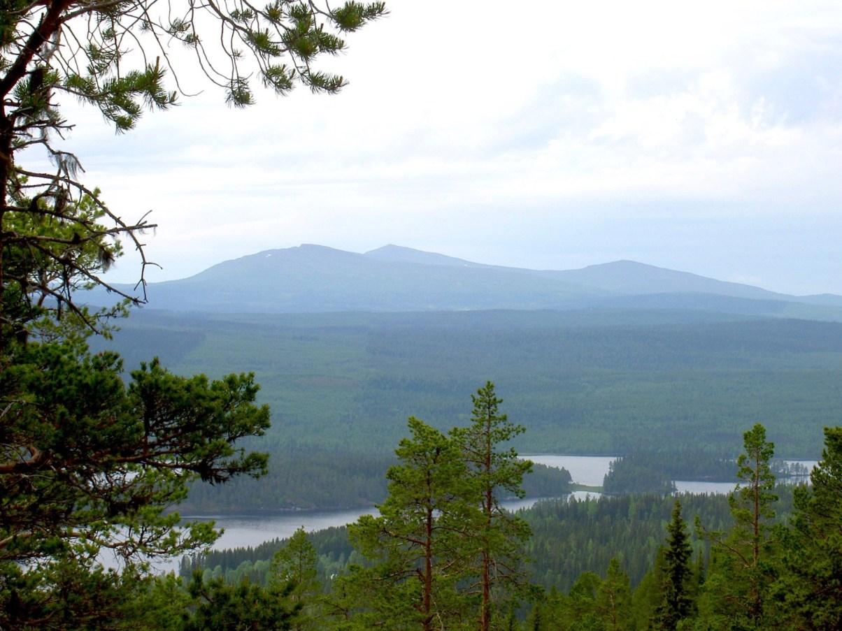 Jaktvy i Hotagsbygden. Foto Maritha Grelsson