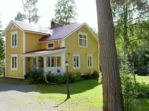 Gårdshuset. Foto Stilla Dagar