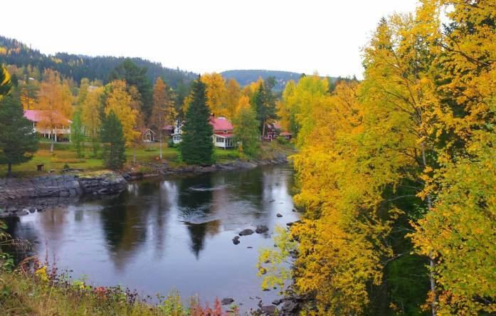 Hus på Stilla Dagar. Foto Stilla Dagar