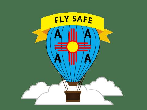 Fly Safe Sticker