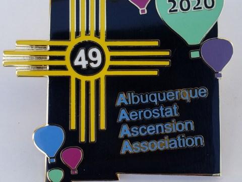 AAAA 2020 Pin
