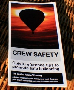 Crew Safety Cards