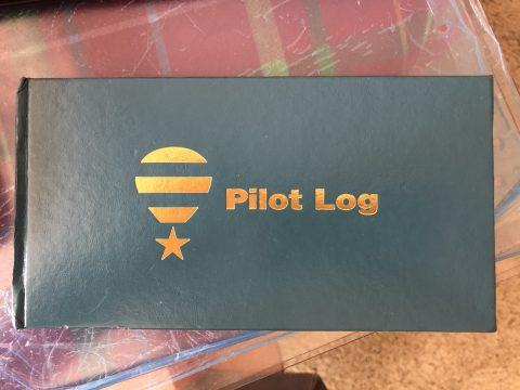 Logbook: Pilot BFA Hardcover
