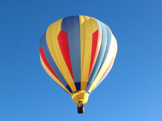 We fly all year. This is the balloon, Sandia Sunlight, that I crew on and sometimes get to actually pilot it.