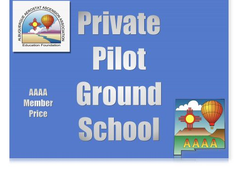 Balloon Private Pilot Online Course
