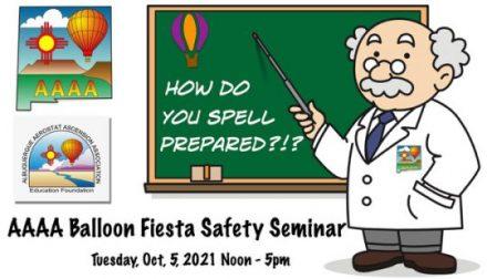 AAAA Fiesta Safety Seminar 2021