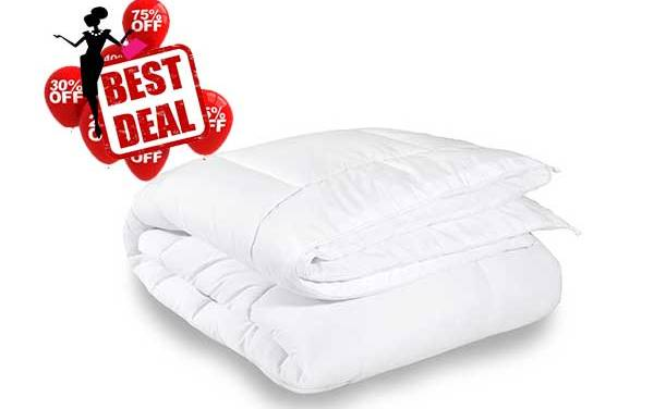 EXPERIENCE THE ROYAL SLEEP TODAY BY PURCHASING THE EQUINOX COMFORTER SET ONLY AT HOT AND BEST DEALS.