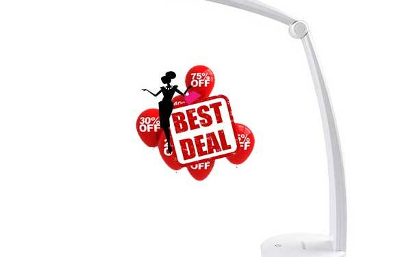 LEPOWER Dimmable LED Desk Lamp With Hot deals