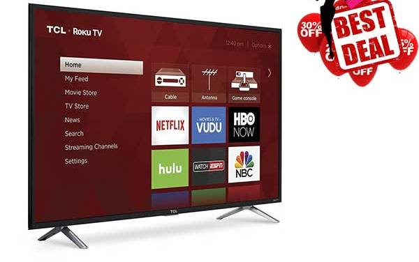 TCL Smart LED TV with best deals