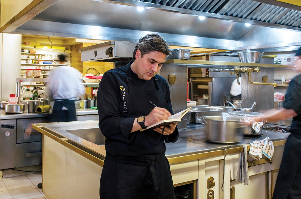 Mikel Alonso y Biko: la cocina de dos orillas - portada