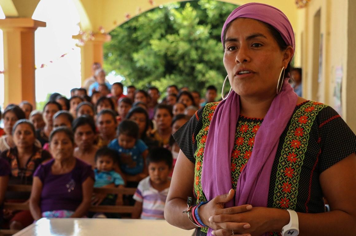 Eufrosina Cruz Mendoza - 1