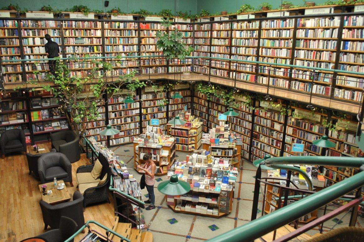 Las 5 mejores librerías de la CDMX - cafebreria