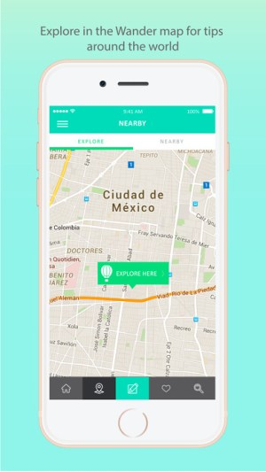 Wander App 2.0: una plataforma turística integral - screen696x696