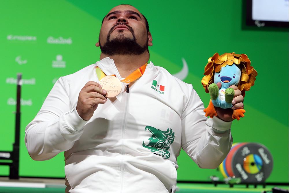 Medallistas mexicanos en los Paralímpicos 2016 - jose-castillo