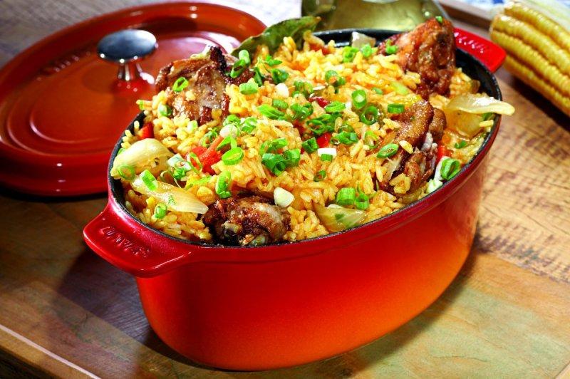 Deliciosas recetas con cebada - receita-de-galinhada-simples
