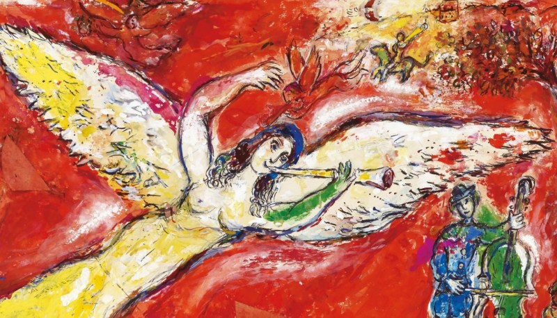 Agenda Internacional febrero - chagall