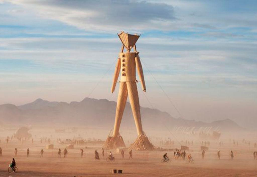 El arte, la libertad y el sentido de comunidad representan los principales valores del Burning Man Festival - Burning-Man-1