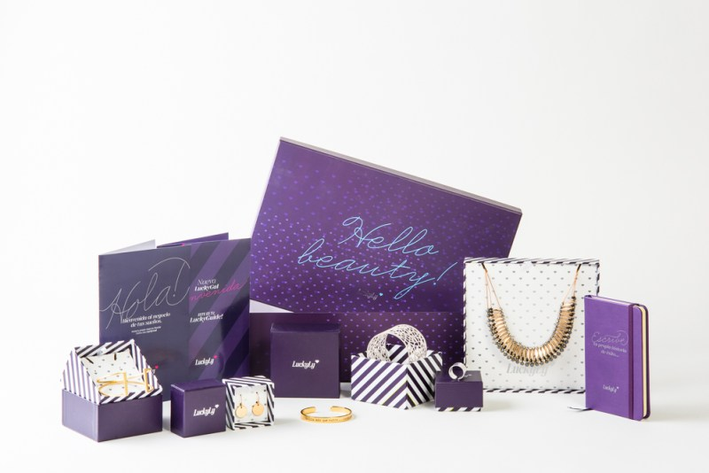 LuckyLy, una empresa de joyería fuera de lo ordinario - luckyly-kit