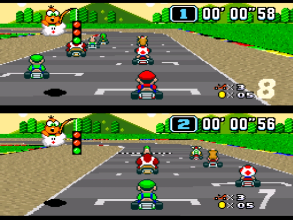 Los mejores videojuegos de los noventas. - 1. Mario Kart portada