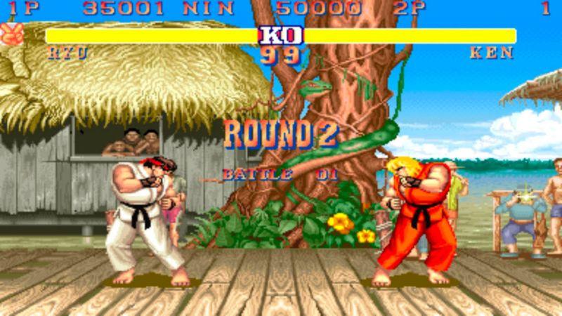 Los mejores videojuegos de los noventas. - 9.-Street-Fighter