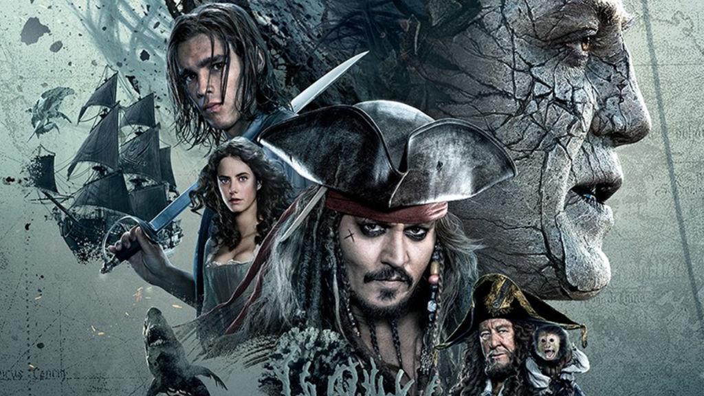 Las 10 películas más taquilleras del 2017 - Películas más taquilleras 2017 - pirates of the carribean portada